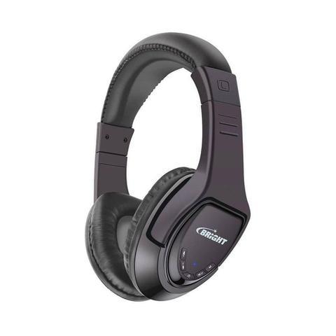 Fone de Ouvido Headphone Bluetooth Bootz Preto Bright 0376