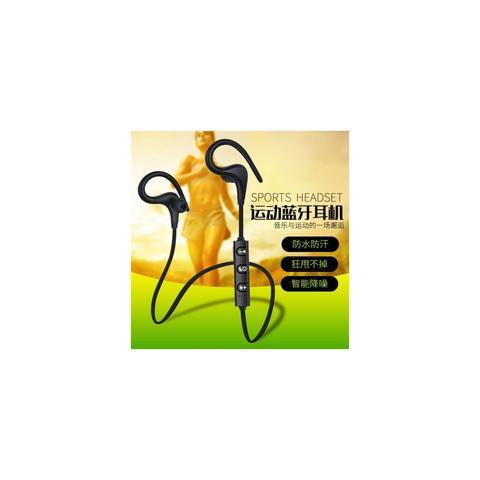 Imagem de Fone de ouvido bluetooth intra auricular com gancho e microfone headset esportivo sem fio corrida musica chamada wireless