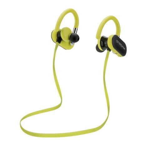 Fone de Ouvido Earphone Bluetooth Microfone Dz Yellow Sport ELG Epb-dz