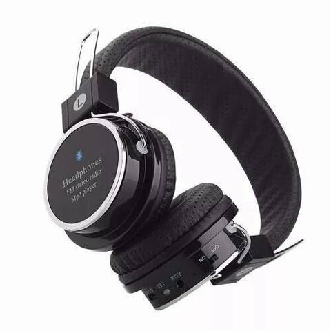 Imagem de Fone de Ouvido Bluetooth Micro SD FM B05 Preto