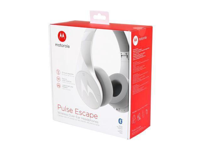 4727edd16 Fone de Ouvido Bluetooth Motorola Pulse Escape Touch Branco - Fone ...