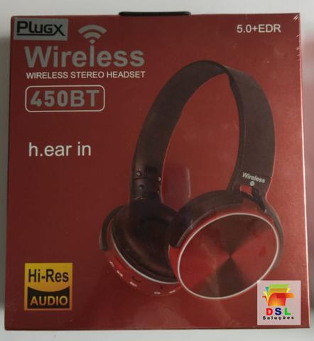 Fone de Ouvido Sem Fio Bluetooth Knup Hf-450bt