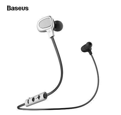 Fone de Ouvido Earphone Bluetooth Preto Baseus B15
