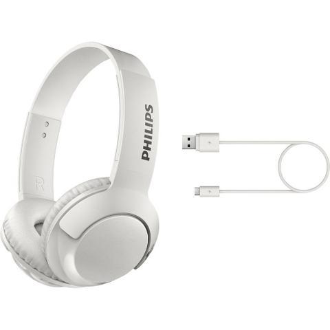 Imagem de Fone De Ouvido Bluetooth sem fio SHB3075, Philips, Branco