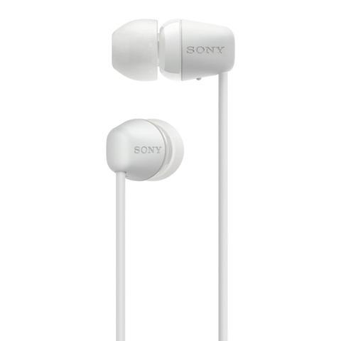 Imagem de Fone De Ouvido Bluetooth Sony Wi C200 Intra Auricular Branco