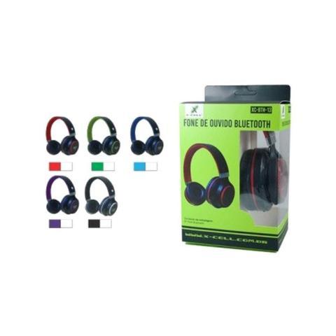 Fone de Ouvido Bluetooth 100mw Cores Sortidas X-cell Xc-bth-13