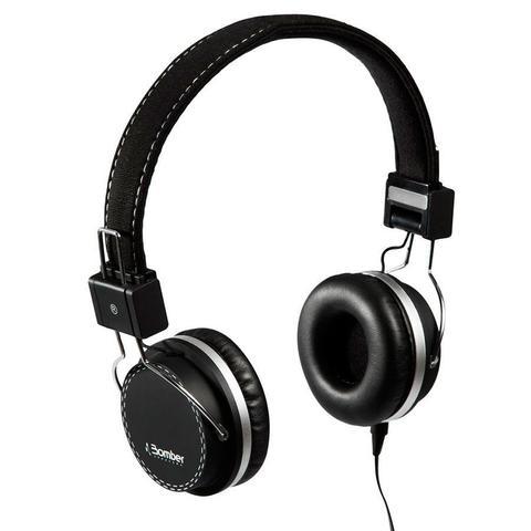 Fone de Ouvido Headphone Quake Preto Bomber Hb02