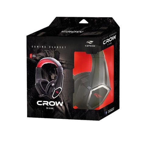 Fone de Ouvido Crow C3 Tech Ph-g100bk