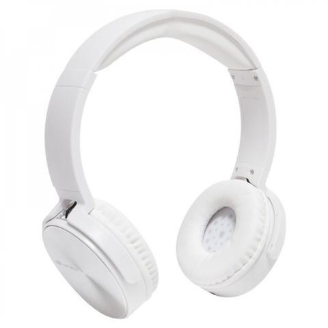 Fone de Ouvido Headphone C/ Microfone Dobrável Branco C3 Tech Ph-110wh