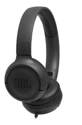 Imagem de Fone De Ouvido Com Microfone Jbl Tune 500 Preto T500