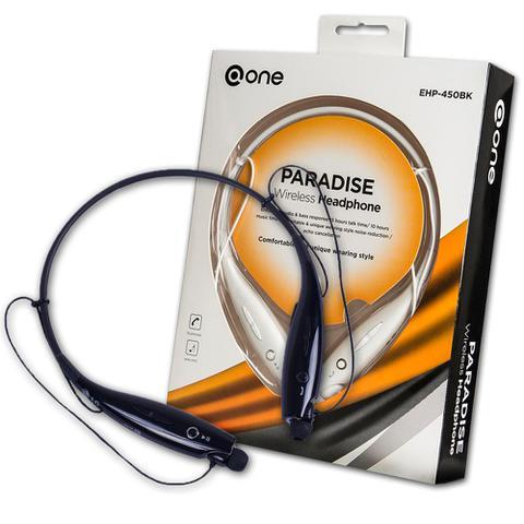 Imagem de Fone de Ouvido com Microfone Sem Fio Wireless EHP-450BK ONE