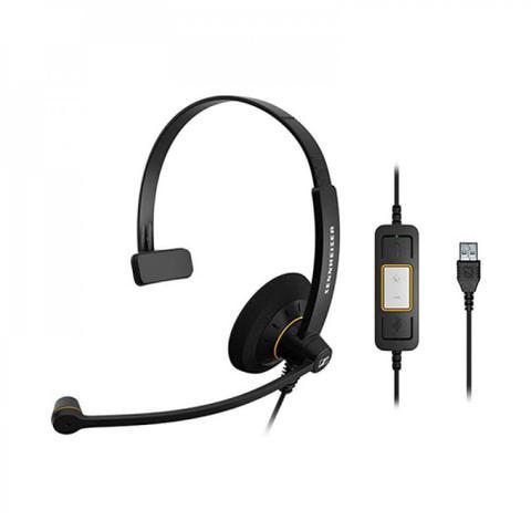 Fone de Ouvido Headset Profissional Sennheiser Sc30usb