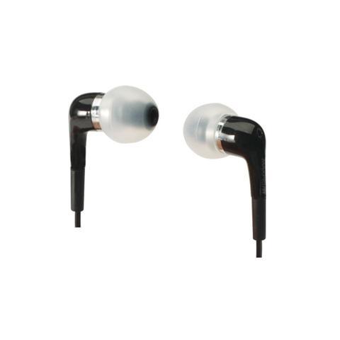 Fone de Ouvido Intra-auricular Com Microfone Preto Maxprint 607756