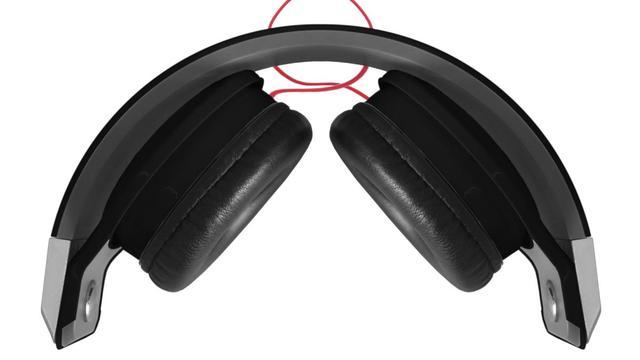 Imagem de Fone de Ouvido DL - FN005 Preto , Linha Citysound, Design Arrojado com fones giratórios