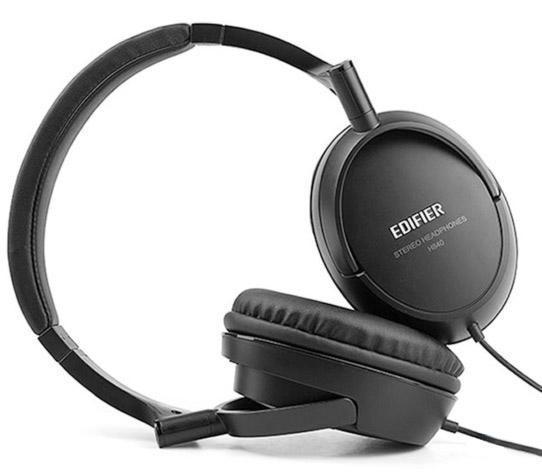 Fone de Ouvido Headphone Stereo Preto Edifier H840