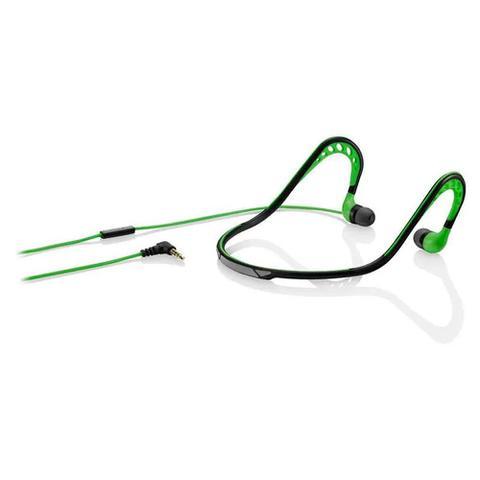 Fone de Ouvido Intra-auricular Sport Stereo Audio Verde Pulse Sound Ph202