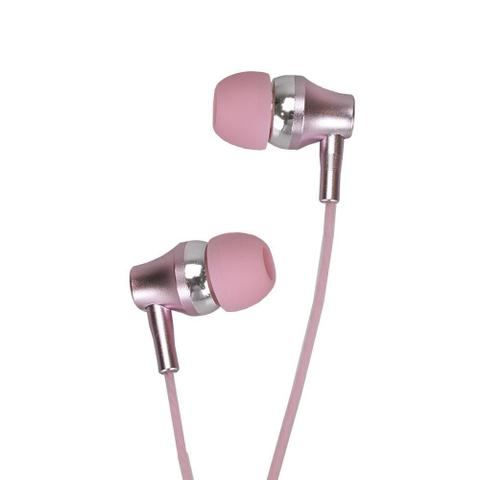 Fone de Ouvido Intra-auricular Earbuds Metal Ouro Rosa Motorola Sh009rg
