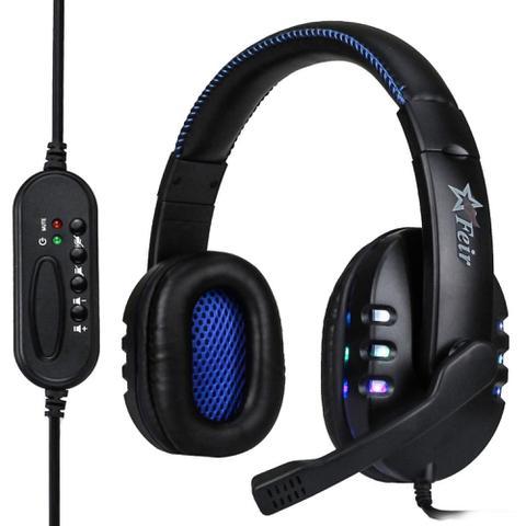 Fone de Ouvido Headphone Preto Feir Fr215
