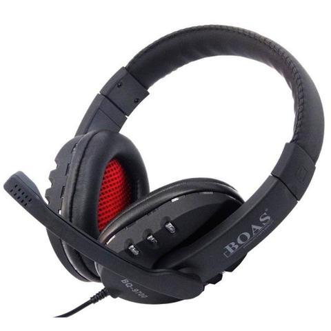 Imagem de Fone De Ouvido Gaming Led Usb Stereo Headphone Boas Bq-9700