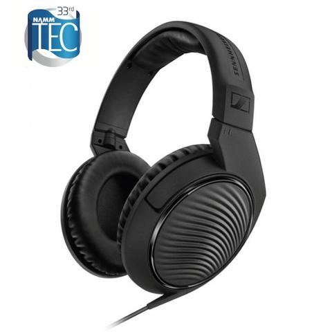 Fone de Ouvido Headphone Circumaural Fechado Preto e Branco Waldman Hd2000