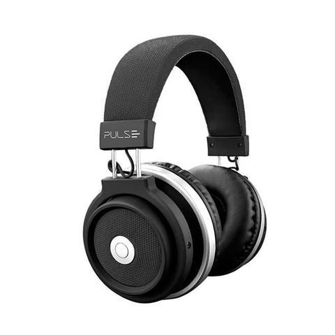 Fone de Ouvido Headphone Bluetooth Large Preto Pulse Sound Ph230