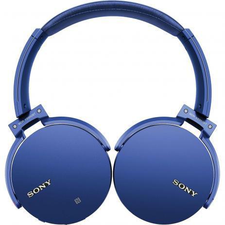 Fone de Ouvido Headphone On-ear Azul Extra Bass Sony Mdr Xb550apl