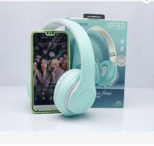 Imagem de Fone De Ouvido Headphone Wireless Bluetooth Mp3 Fm Micro Sd Anúncio com variação