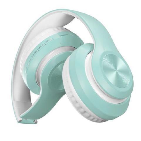 Imagem de Fone De Ouvido Headset Dobravel Bluetooth 5.0 Azul
