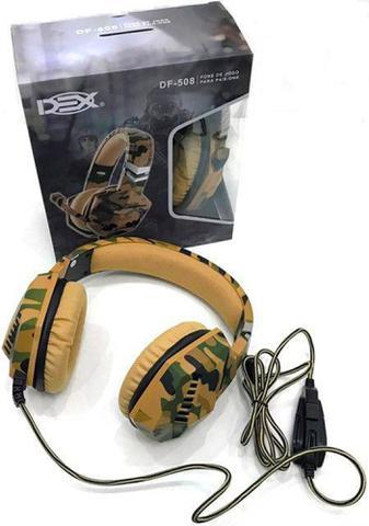 Fone de Ouvido Gamer Dex Df-508