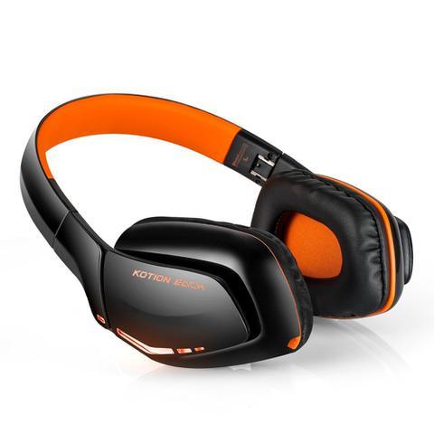 Imagem de Fone De Ouvido Headset Gamer + Microfone Sem Fio Kotion Each