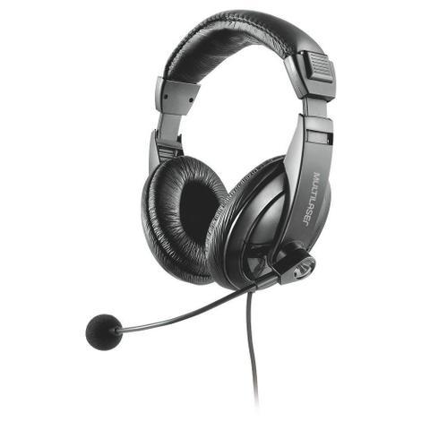 Fone de Ouvido Headset Usb Giant Preto Multilaser Ph245