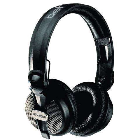 Fone de Ouvido Headphone Closed-type High-definition Dj Behringer Hpx4000