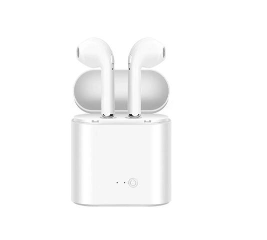 Fone de Ouvido Bluetooth I7s 4.2 Sem Fio Case Base Tws I7s