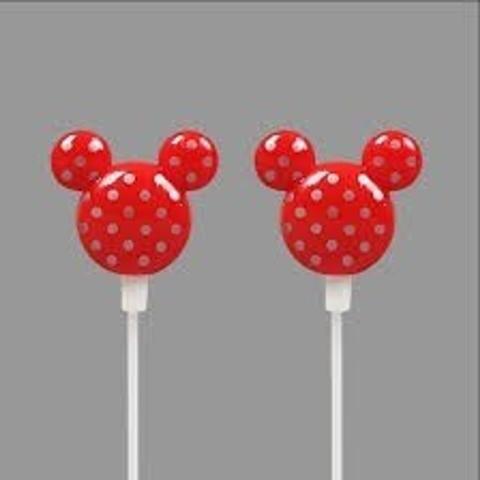Imagem de Fone De Ouvido In-ear Disney Mickey Para Mp3 Mp4