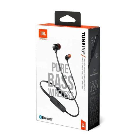 Imagem de Fone de Ouvido IN Ear JBL Bluetooth T115BT
