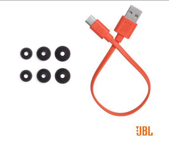 Imagem de Fone de ouvido in ear true Wireless, JBL, JBLT115TWSBLK, Preto, Pequeno