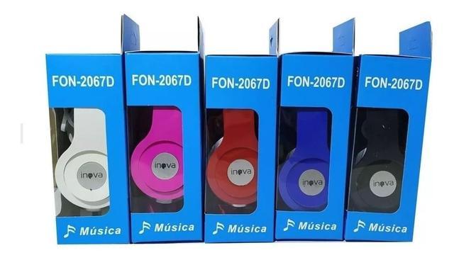 Imagem de Fone De Ouvido Inova Celular Com Fio Estéreo P2 Para Tablet