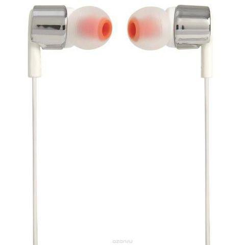 Imagem de Fone De Ouvido Intra Auricular Com Microfone Jbl T210 Cinza