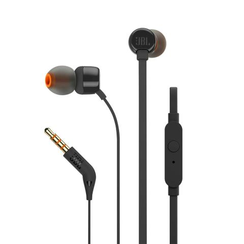 Imagem de Fone De Ouvido Intra Auricular Jbl T110 Com Microfone BLACK UN