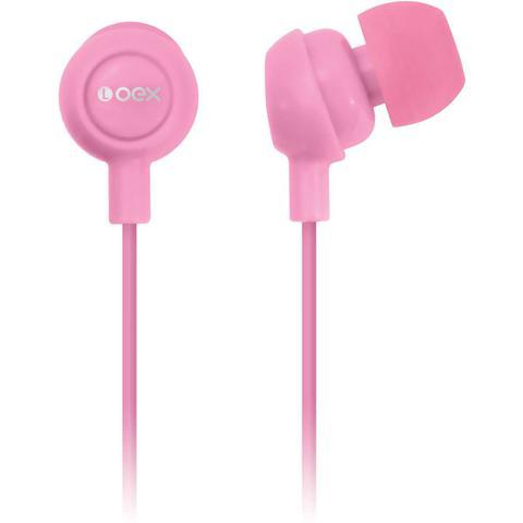 Fone de Ouvido Intra-auricular Rosa Newex