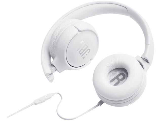 Imagem de Fone de Ouvido JBL com Microfone Branco