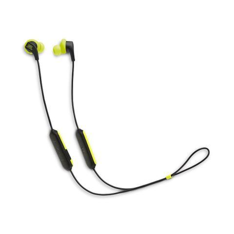 Imagem de Fone de Ouvido JBL Endurance RunBT Amarelo Preto Sem Fio Bluetooth para Corrida JBLENDURRUNBTBNL
