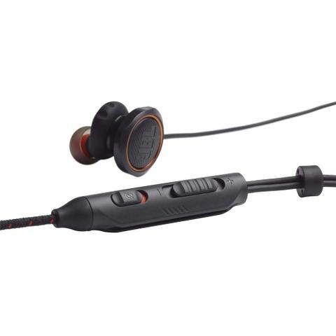 Imagem de Fone de Ouvido JBL Quantum 50 Preto Gamer com Controle Volume Microfone Mute Plug P3 JBLQUANTUM50BLK