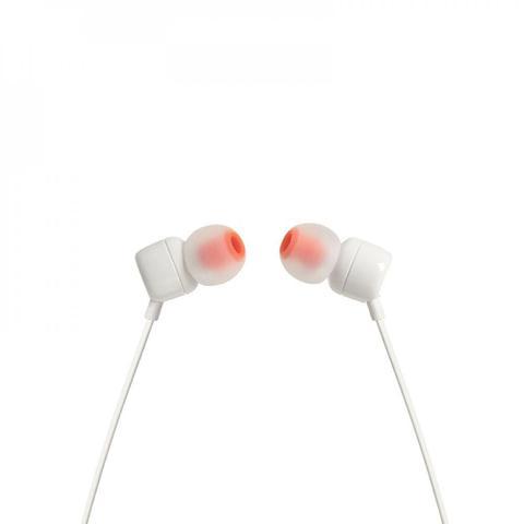 Imagem de Fone de Ouvido JBL Tune 110 Intra Auricular Branco