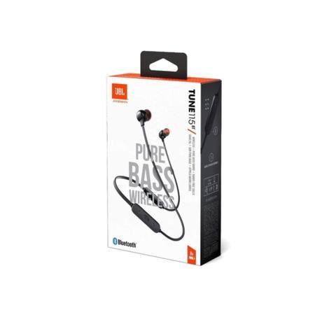 Imagem de Fone De Ouvido JBL Tune 115BT Intra Auricular - com Microfone - Bluetooth Multiponto - T115BT Preto