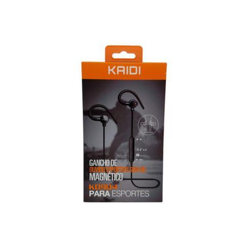Fone de Ouvido Com Gancho Bluetooth Som Hd Sport V.4.2 Kaidi Kd904