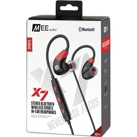Fone de Ouvido Intra-auricular Bluetooth Sport X7 Plus Preto Mee Audio