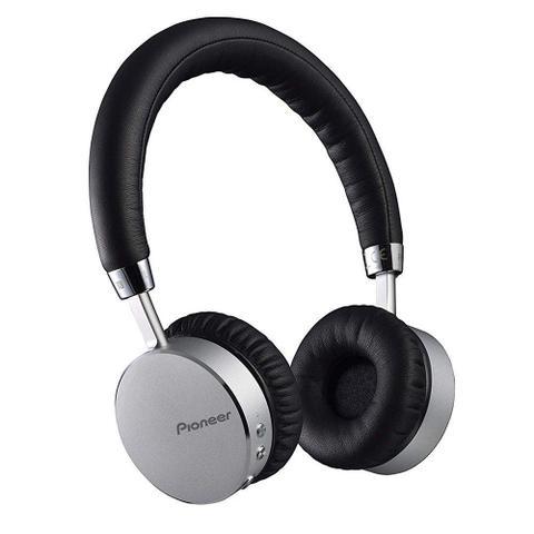 Fone de Ouvido Headphone Bluetooth Prata Pioneer Se-mj561bts