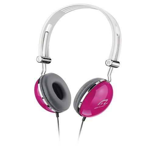 Imagem de Fone De Ouvido Multilaser Pop Pink Hi-Fi Estéreo Conecta Com Iphone Ipod Mp3 P2 - PH055