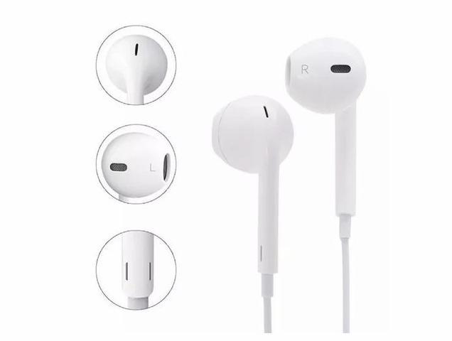 Imagem de Fone de Ouvido para iPhone 6 6S 7 8 e X Branco